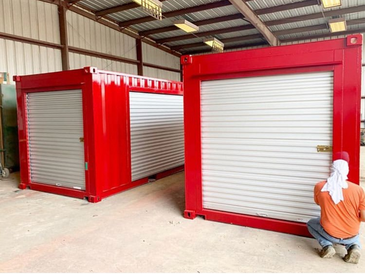 roll up door shipping containers