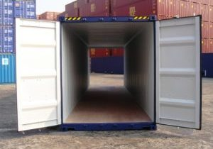 40 foot double door container